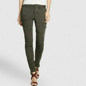 3/$20 Celebrity Pink Green Cargo Skinny Jeans